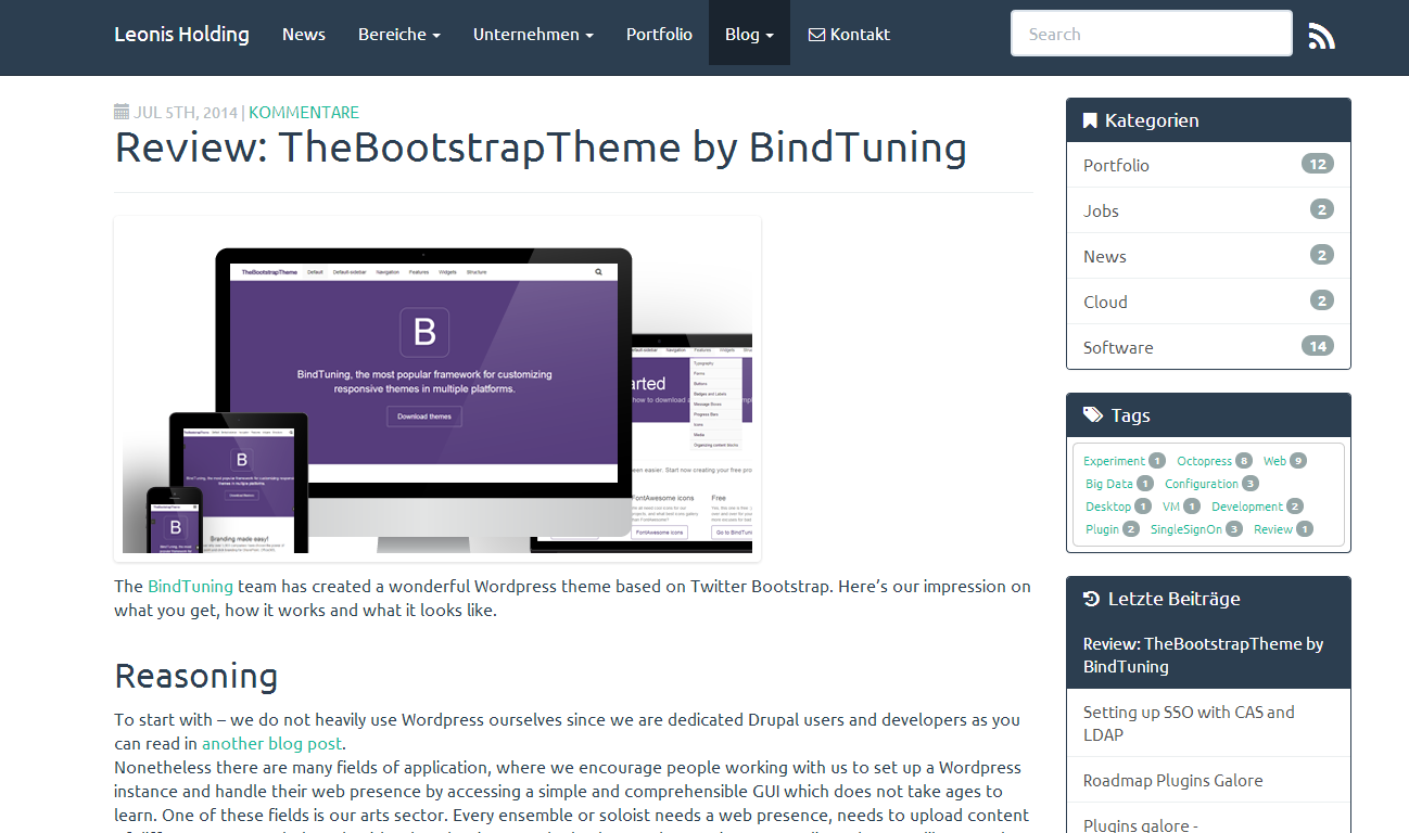 how to add bootstrap to wordpress theme