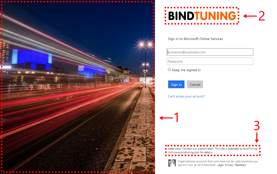 Office 365 Sign In page (11)
