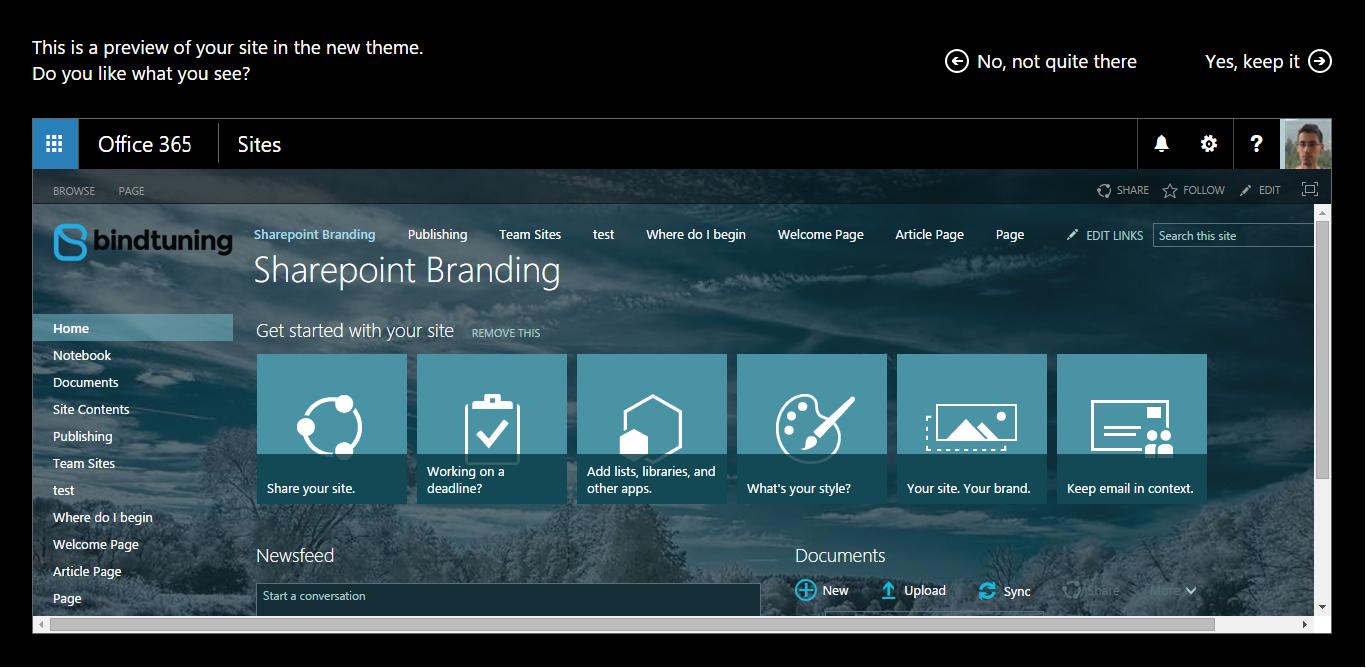 Beginners Guide to SharePoint Branding
