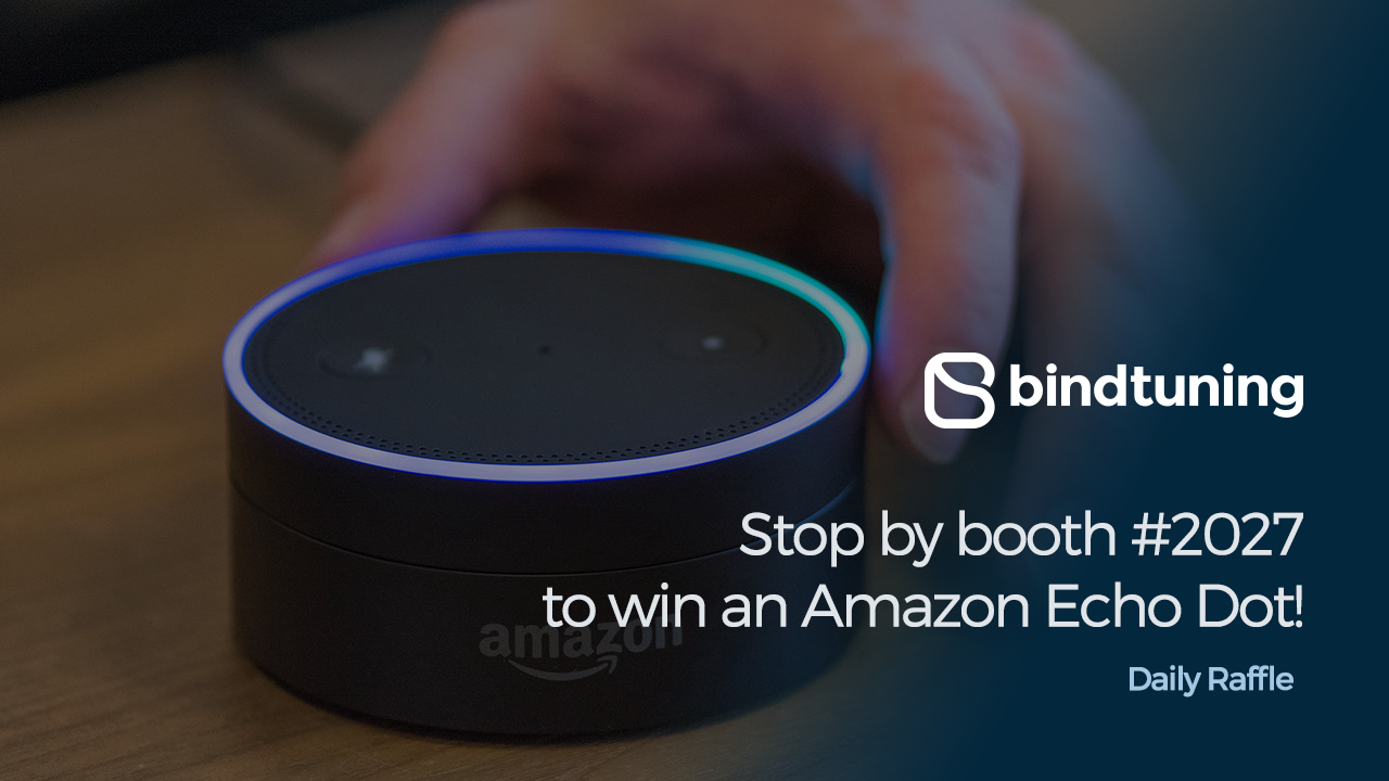 Win an Amazon Echo Dot at Microsoft Ignite 2017