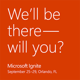 All Things BindTuning at Microsoft Ignite 2017
