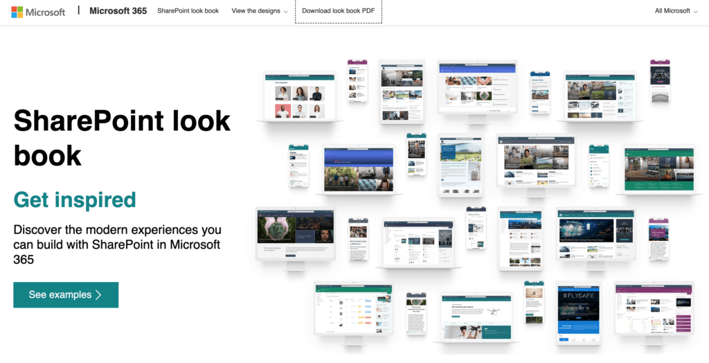 Microsoft SharePoint look book