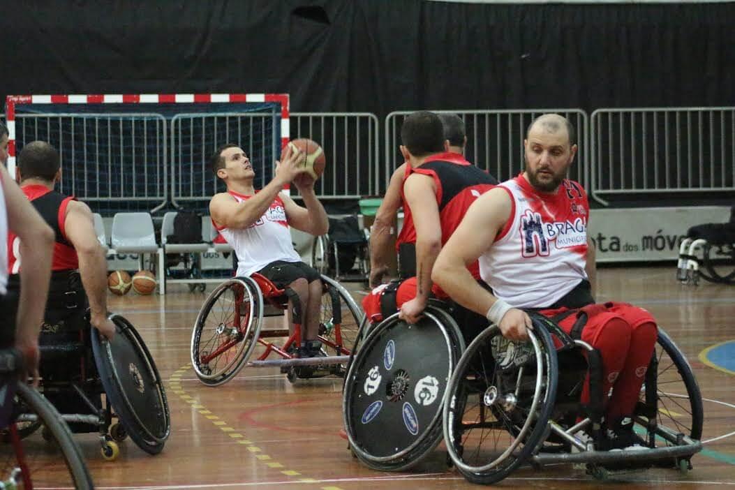 Wheelchair basketball team APD Braga