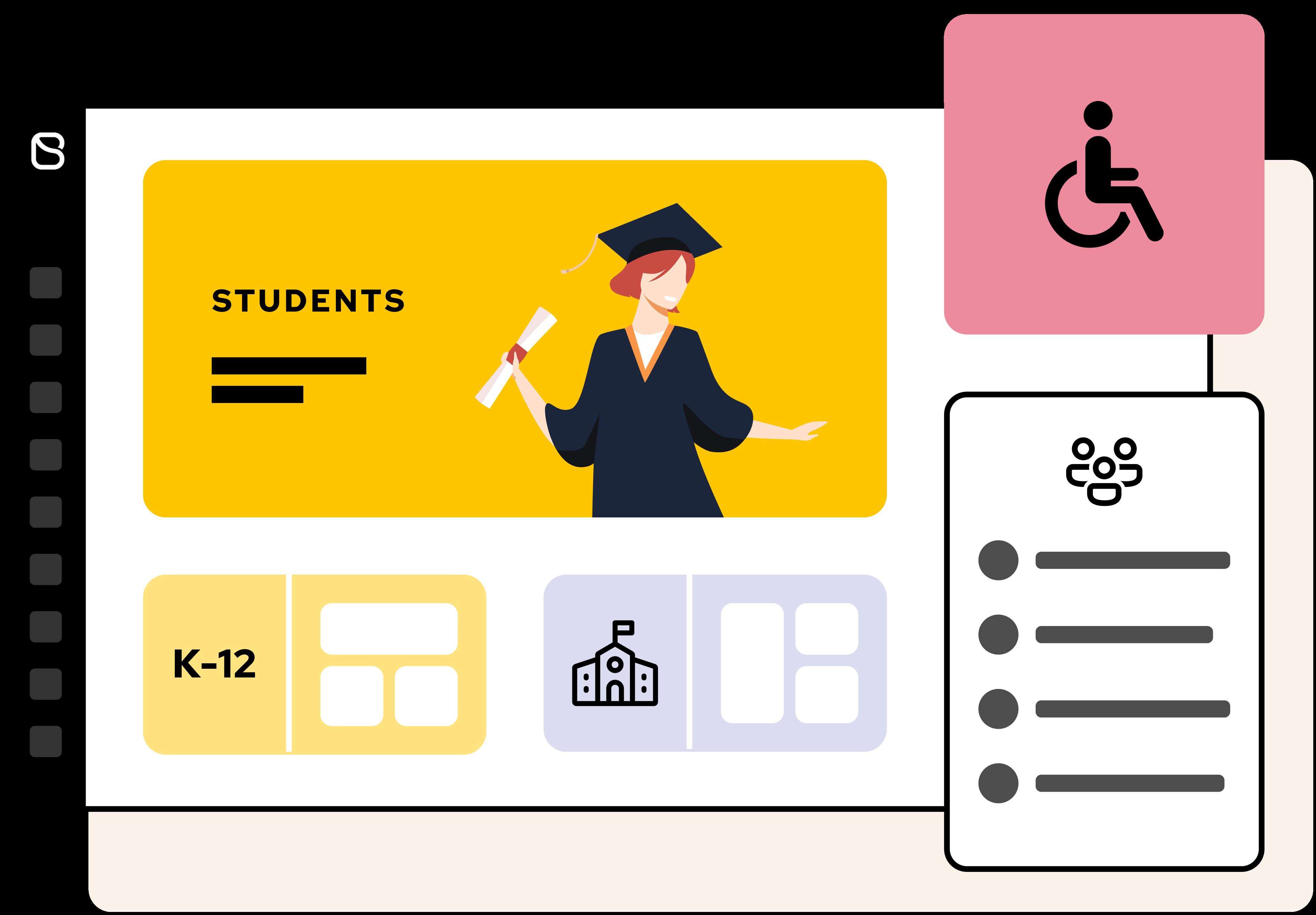 Students digital workspace