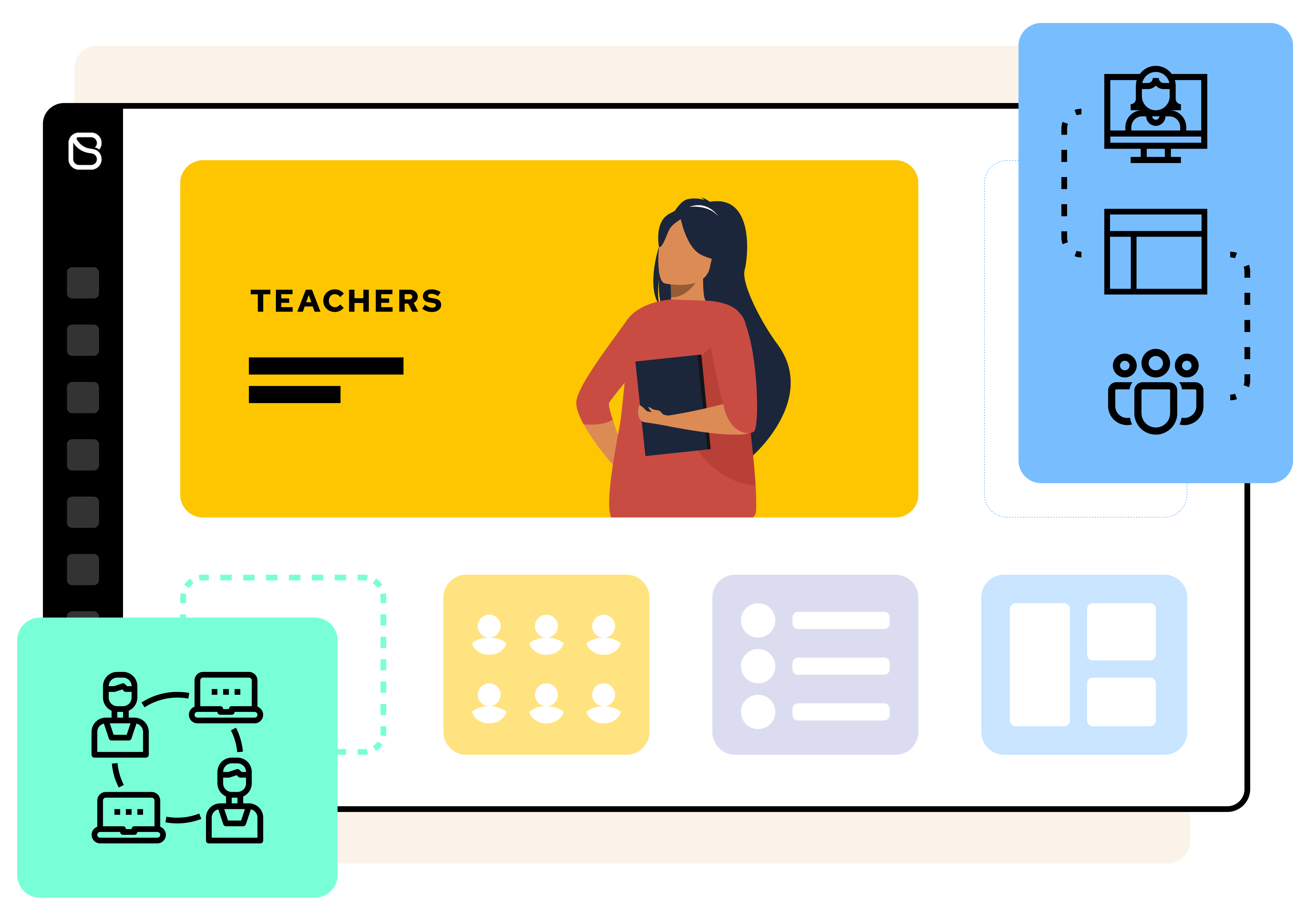 Digital workspaces for teachers