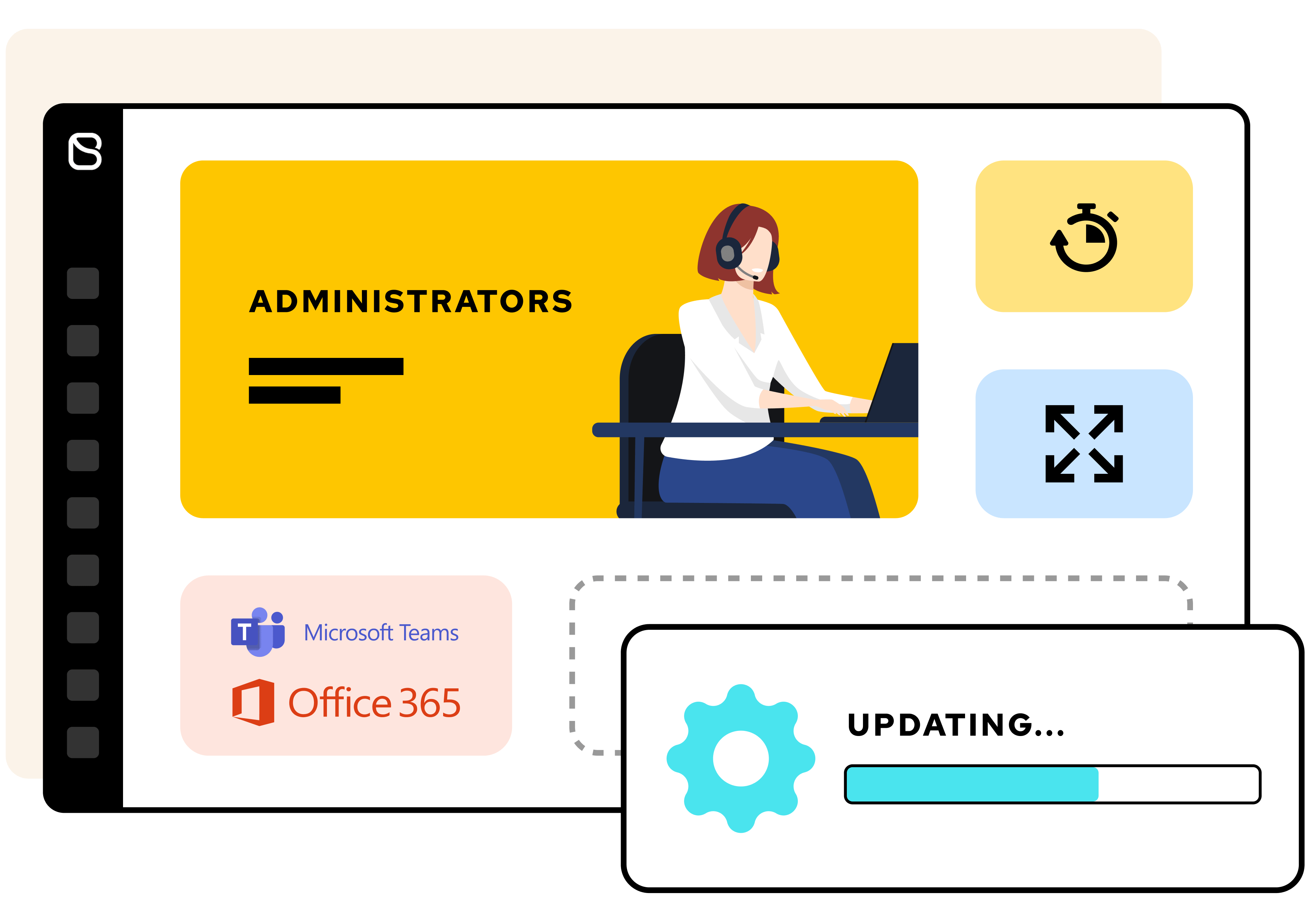 Digital workspaces tailored for administrators needs